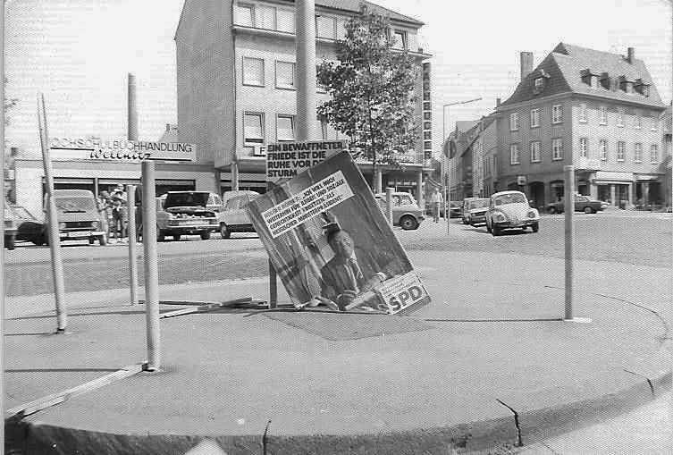 Kantplatz 80er Jahre